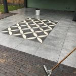 mol sierbestrating - keramische tegels