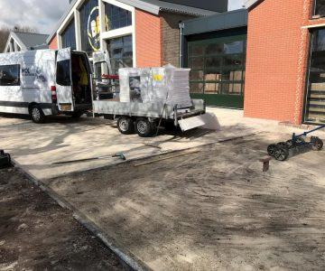 Mol Sierbestrating - grind - grindplaten